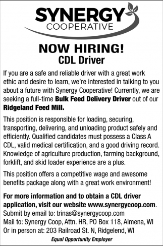 CDL Driver