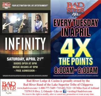 Infinity / 4X The Points