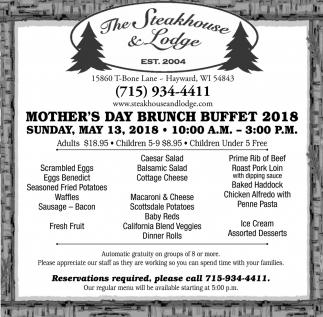 Mother's Day Brunch Buffet