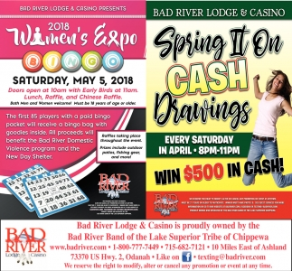 2018 Women's Expo / Spring It On Cash Drawings