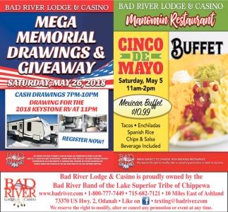 Mema Memorial Drawings & Giveaway / Cinco de Mayo Buffet