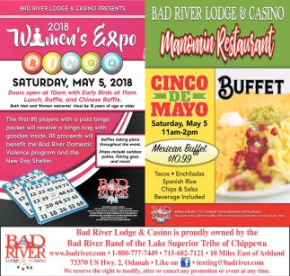 2018 Womens Expo / Cinco de Mayo Buffet