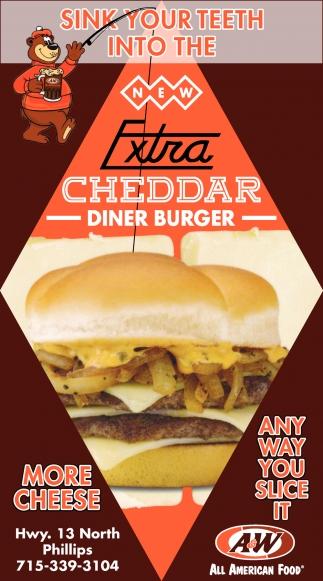Cheddar Diner Burger