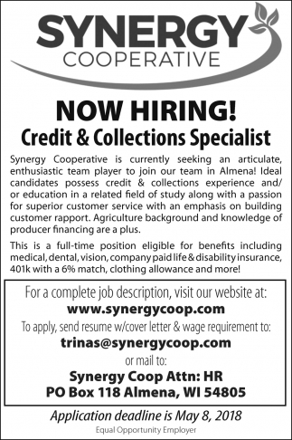 Credit & Collections Specialist