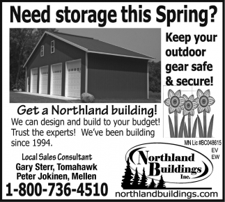 Need storage this spring?