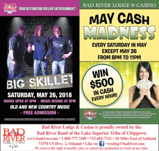 Big Skillet / May Cash Madness