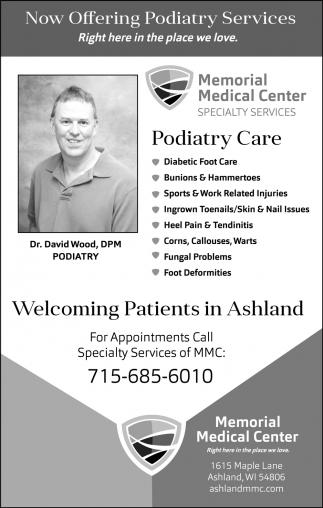 Dr. David Wood, DPM Podiatry