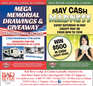 Mega Memorial Drawings & Giveaway / May Cash Madness
