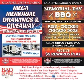 Mega Memorial Drawings & Giveway / Memorail Day BBQ