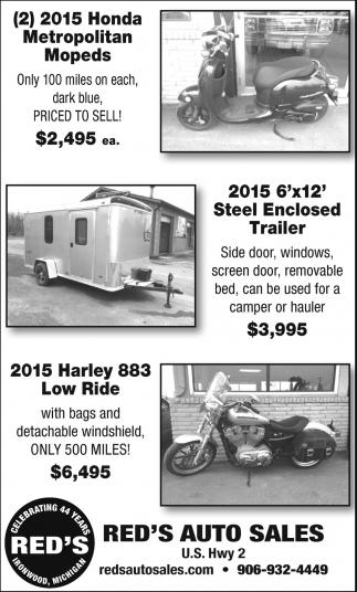 Honda, Trailer, Harley