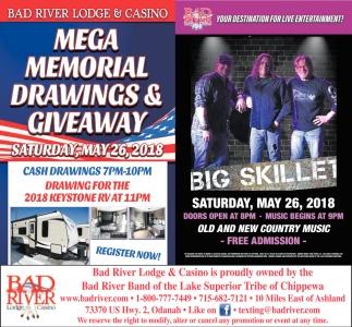Mega Memorial Drawings & Giveaway / Big Skillet