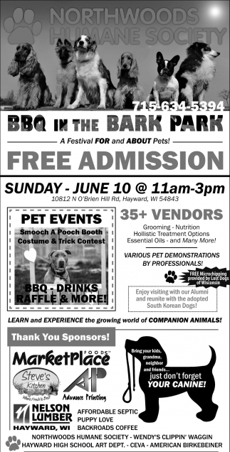 BBQ in the Bark Park