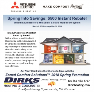 Spring Into Savings $500 Instant Rebate