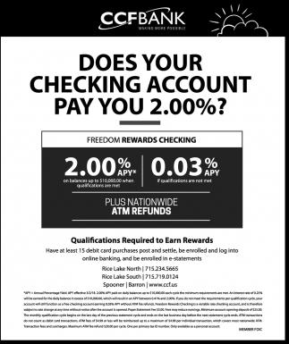 Checking Account