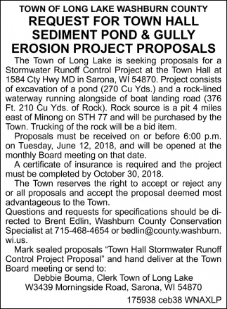 Request for Town Hall