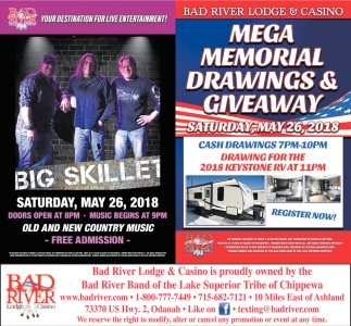 Big Skillet / Mega Memorial Drawings & Giveaway