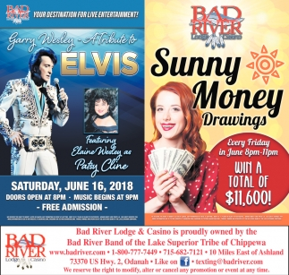 Tribute to Elvis / Sunny Money Drawings