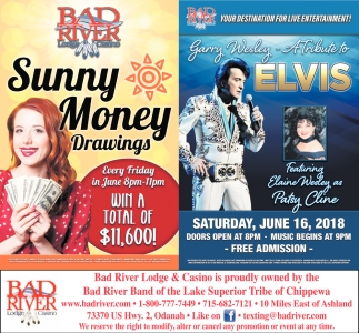 Sunny Money Drawings / Tribute to Elvis