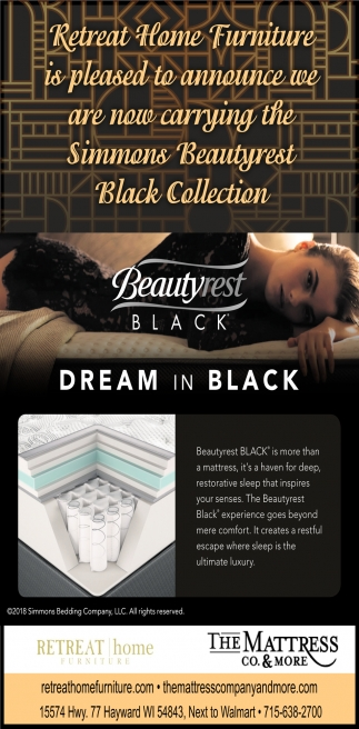 Beautyrest Black, Retreat Home Furniture, Hayward, WI