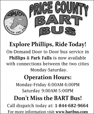 Explore Phillips, Ride Today!