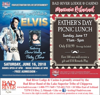 Tribute to Elvis / Manomin Father's Day Picnic Lunch