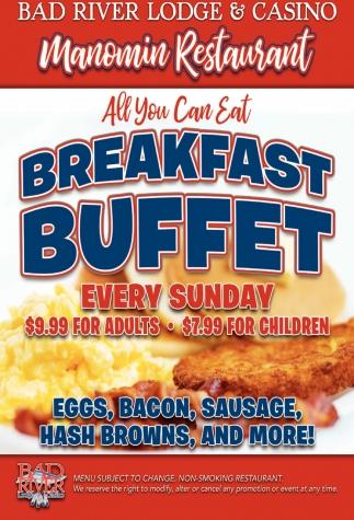 Manomin Breakfast Buffet