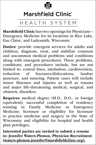 Physicians - Emergency Medicine