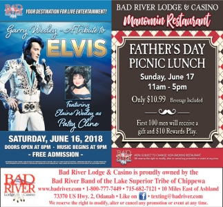 A tribute to Elvis / Manomin Father's Day Picnic Lunch
