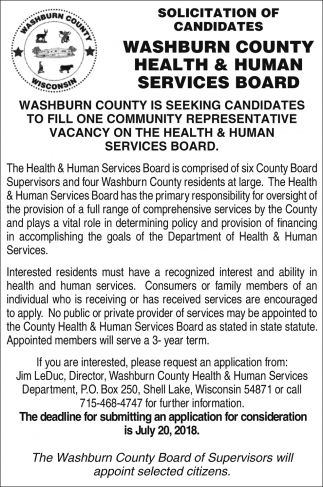 Health & Human Services Board