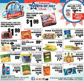 Fabulous Fourth of July Deals