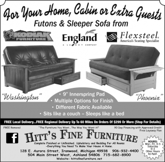 Peachy Futons Sleeper Sofa Hitts Fine Furniture Ashland Wi Short Links Chair Design For Home Short Linksinfo