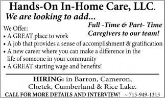 Caregiving Position