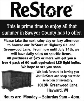 Summer in Sawyer County