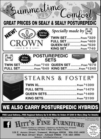 Sealy Performance Posturepedic Mattresses
