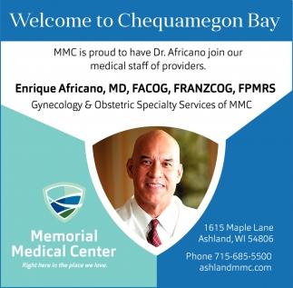 Enrique Africano, MD, FACOG, FRANZCOG, FPMRS