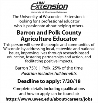 Agriculture Educator