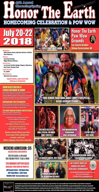 45th Annual Honor the Earth Pow Wow