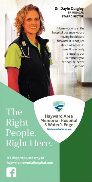 Dr. Dayle Quigley, ER Medical Staff Director