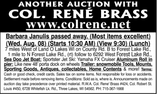 Trailer, Snowmobile, Sporting Goods, Antiques