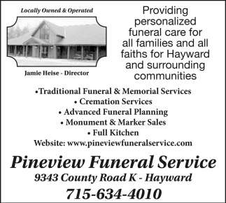 Funeral and cremation services