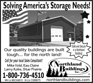 Solving America's Storage Needs!
