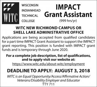 IMPACT Grant Assistant