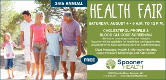 34th Annual Health Fair