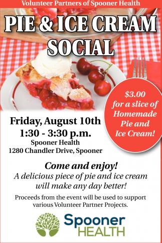 Pie & Ice Cream Social