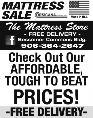 Check Out Our Affordable, Tough to Beat Prices! Free Delivery