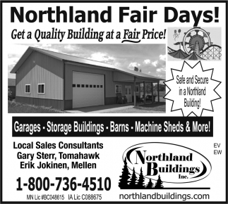 Garages, Storage Buildings, Barns