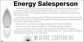 Energy Salesperson