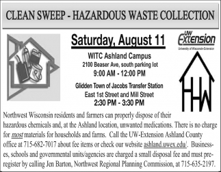 Clean Sweep - Hazardous Waste Collection