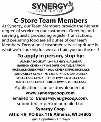 C-Store Team Members