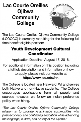 Youth Development Cultural Coordinator